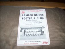 Bamber Bridge v Cheadle Town, 1990/91 [LPC]